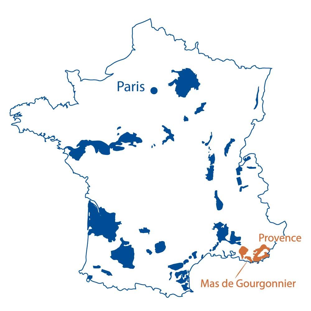 Mas de Gourgonnier Provence France