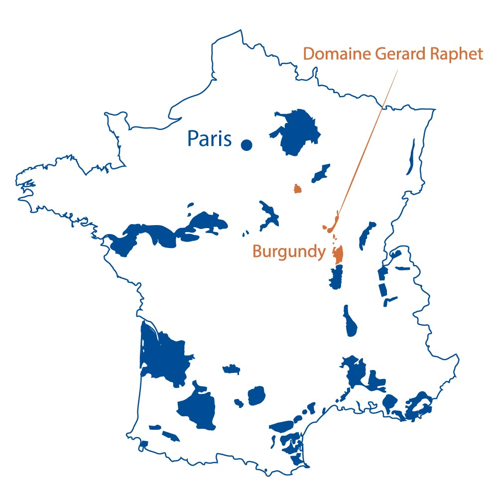 Domaine Gerard Raphet Burgundy North Berkeley Imports