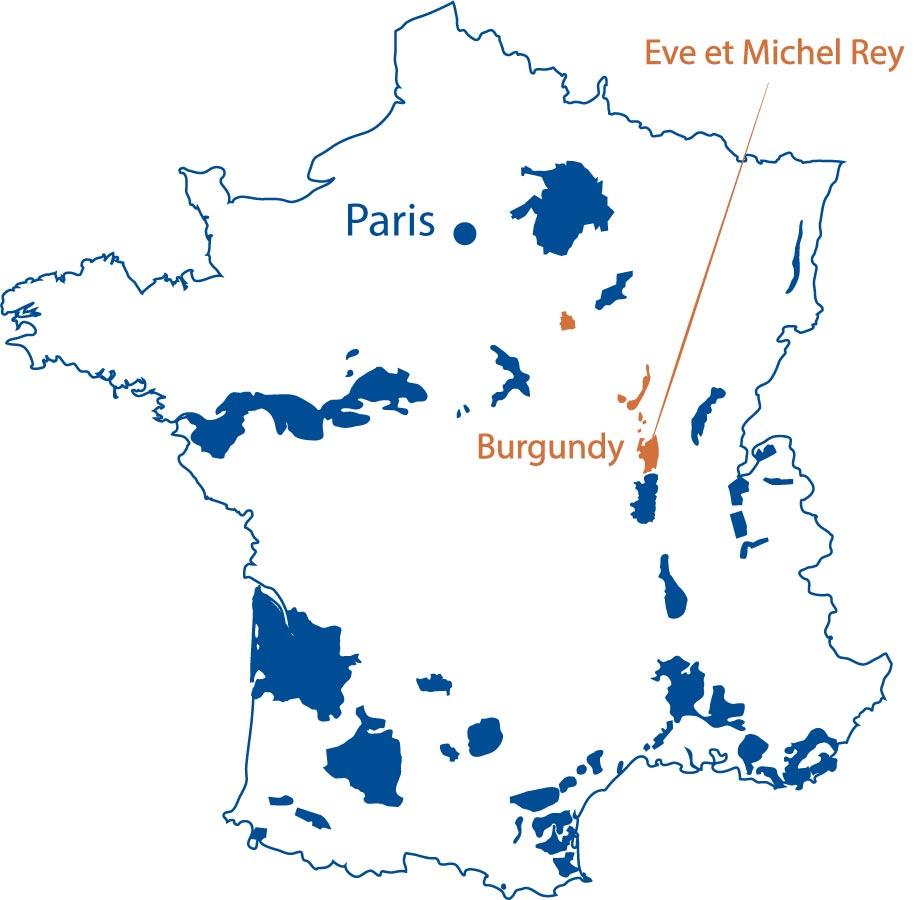 Domaine Eve et Michel Rey Maconnais North Berkeley Imports
