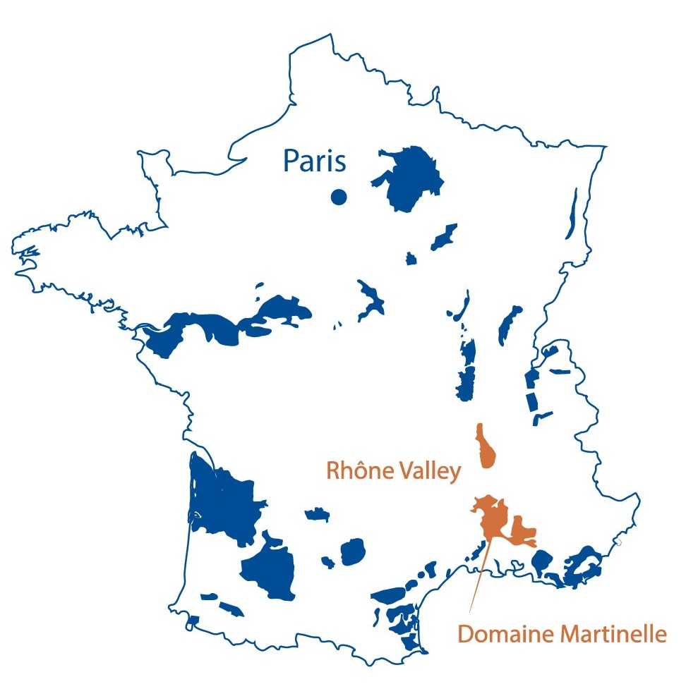 Domaine Martinelle Ventoux Rhone North Berkeley Imports