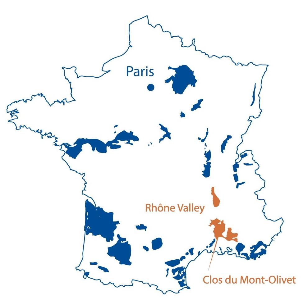 Clos du Mont Olivet Chateauneuf du Pape Rhone North Berkeley Imports