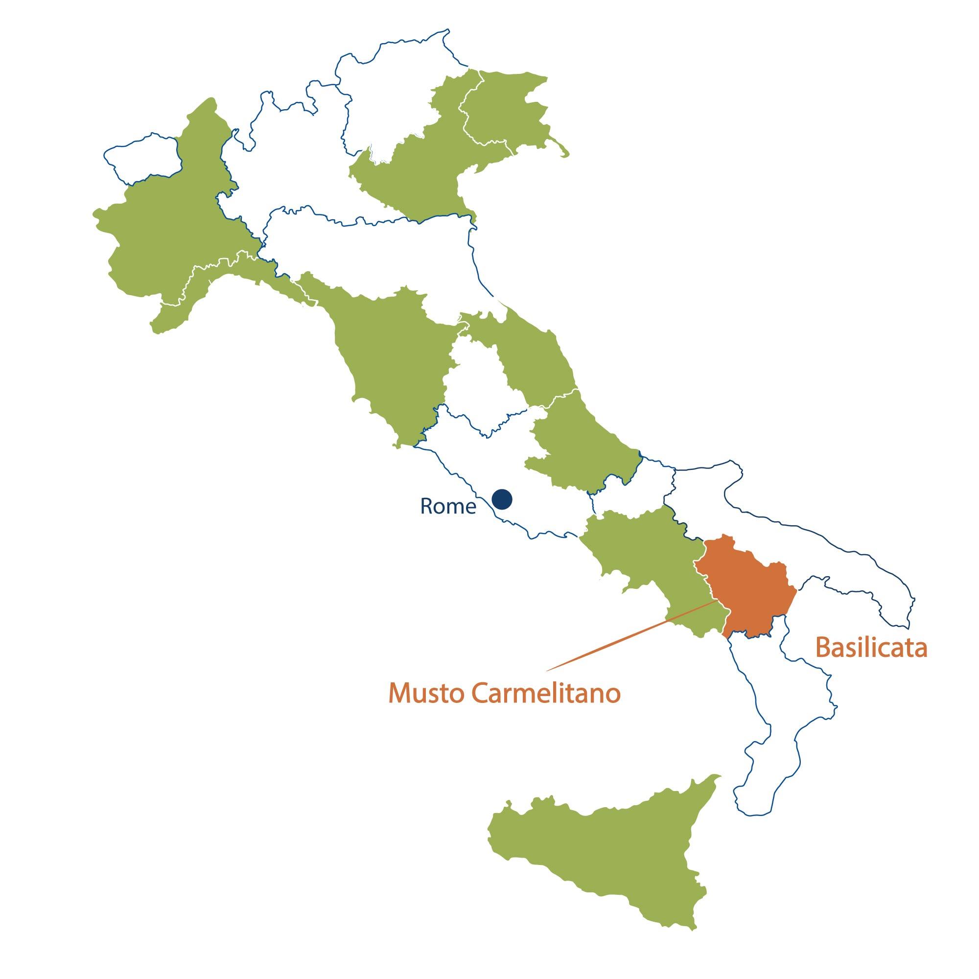 Azienda Agricola Musto Carmelitano Basilicata North Berkeley Imports
