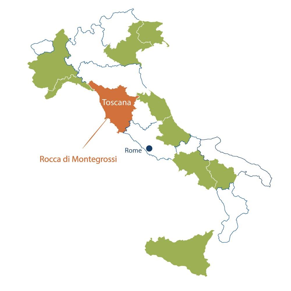 Azienda Viticola Rocca di Montegrossi Toscana North Berkeley Imports